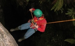 caving rope work